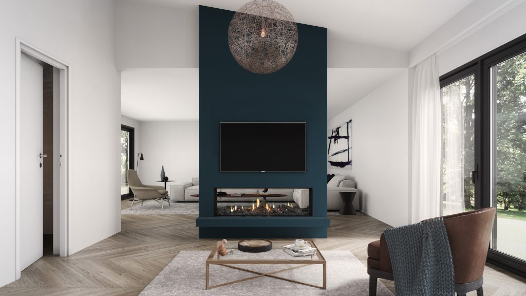 Modern Gas Fireplaces Designs | Escea Fireplace Sydney | Chazelles
